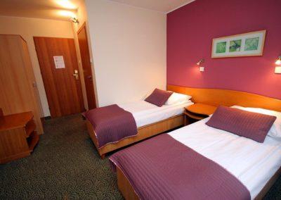 pokoj 2-osobowy Hotel George1